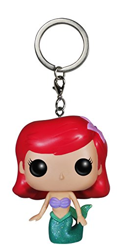 Funko-POP-Keychain-Disney-Ariel-Action-Figure