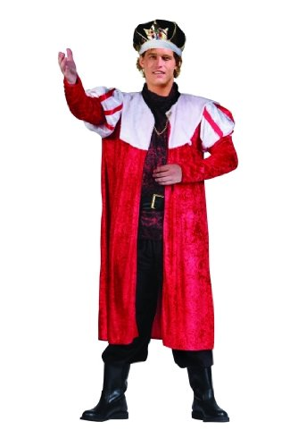 Adult Deluxe Red King's Robe Costume Accessory