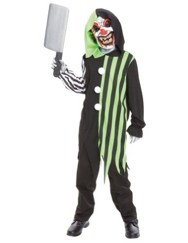 Cleaver The Clown Child Costume Lg Kids Boys Costume