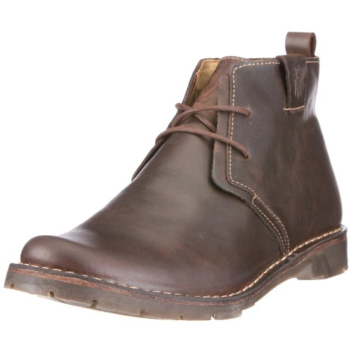 Fly London Men's Ollie Dark Brown Lace Up Boot P210489016 12 UK