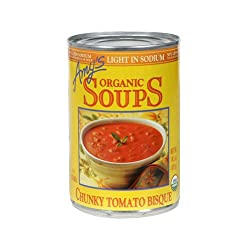 Amy's Chunky Tomato Bisque, Ls, 14.5-Ounce (Pack of 12)