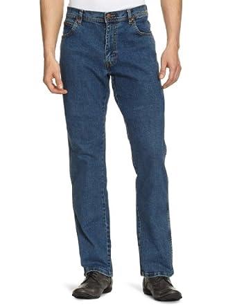 Wrangler Texas - Jeans - Droit - Homme - Bleu (Stonewash) - W30/L32 (Taille fabricant: W30/L32)
