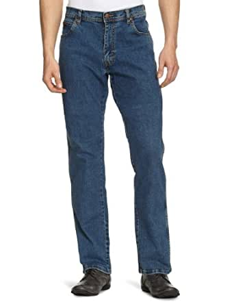Wrangler Texas - Jeans - Droit - Homme - Bleu (Darkstone) - W30/L34 (Taille fabricant: W30/L34)