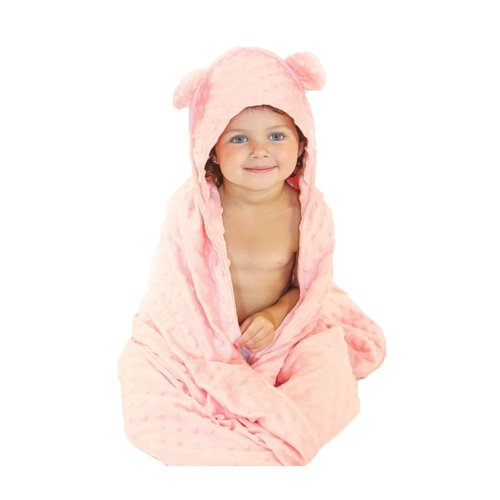 Woombie Minky Cuddle Cape, Pink, 3-6 Years