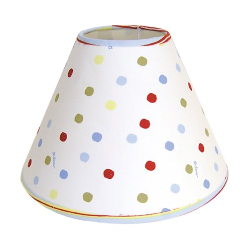 Trend Lab Infant Nursery Newborn Baby Room Decorative Dr. Seuss One Fish Two Fish Lamp Shade