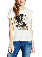 Pepe Jeans London Camiseta Manga Corta Taft (Blanco)