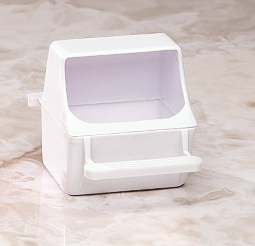 Universal bird cage replacement plastic feed cup seed water feeder dish (Water Dish For Bird Cage compare prices)
