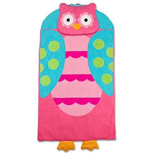 Stephen Joseph Owl Nap Mat, Pink/Turquoise