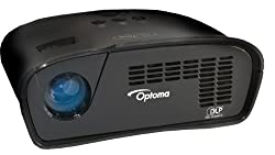 Optoma PT105 75 Lumen Playtime LED Gaming Projector with HDMI