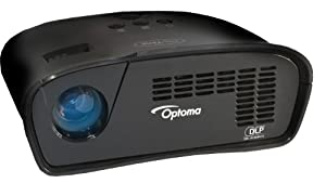 Optoma PT105, WVGA, 75 LED Lumens, Gaming Projector