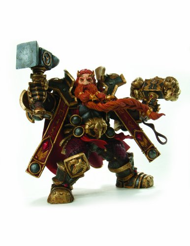 Picture of Diamond Comics World of Warcraft: Series 6: Dwarven King: Magni Bronzebeard Action Figure (B002KBTASU) (Diamond Comics Action Figures)