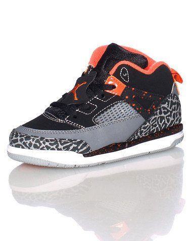Nike Jordan Sprizike BT Infant Black/Cool Grey/Wolf Grey/Electro Orange 317701-080 (SIZE: 6C)