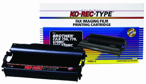 Ko-Rec-Type 4883-0 Fax Imaging Film Ribbon for Brother PC301 Cartridge