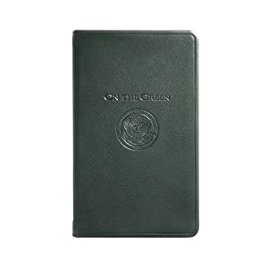 "USGA On The Green, Genuine Calfskin Leather, 3"" x 5"" by Graphic Image"