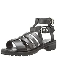 Bronx Ladies Up Close Gladiator Sandal by Bronx