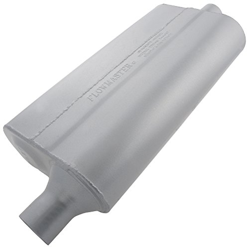 Flowmaster 942051 50 Delta Flow Muffler - 2.00 Offset IN / 2.00 Center OUT - Moderate Sound (98 Honda Civic Muffler compare prices)