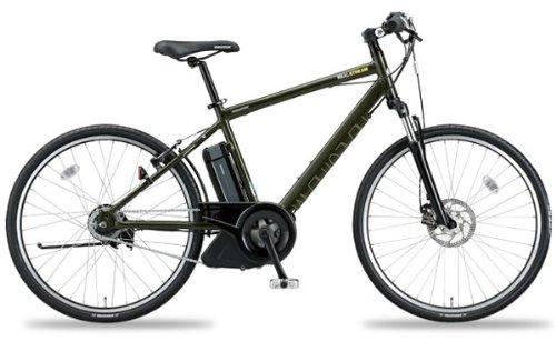 ブリヂストン 電動自転車/アシスト自転車リアルストリーム RealStream RS681 2011年モデル 防犯登録無料 完全組立済 自転車 T.ストロングカーキ / ブリヂストン