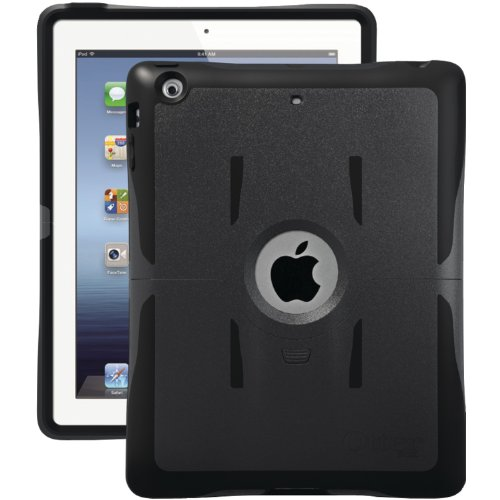 Otterbox Reflex Series Case With Stand For The New Ipad 4, Ipad 2 And 3 - Black front-871709