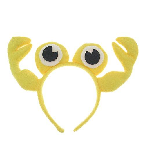[Skue Cute Cartoon Animal Crab Headband] (Little Red Ant Costume)