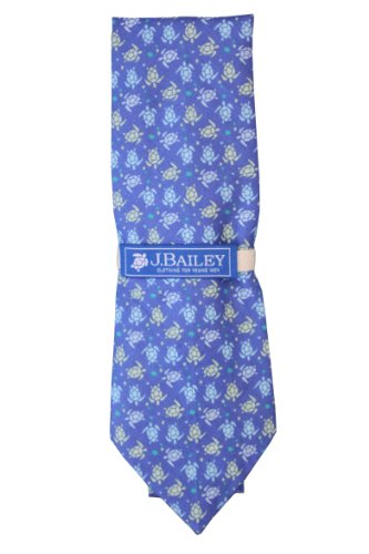 J. Bailey Clothing Boys' Tie Med Turtle Print