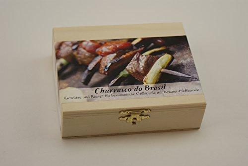 Fuoco & vetro food-scatola Churrasco do Brasil spiedi per barbecue con siribuncha pepe cherel