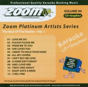 Beatles - Zoom Karaoke CD+G - Platinum Artists 90: The Best Of The Beatles 1 - Lyrics2You