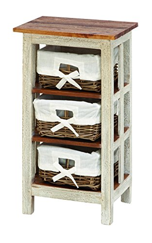 Solid Wood Rattan Cabinet front-1006183
