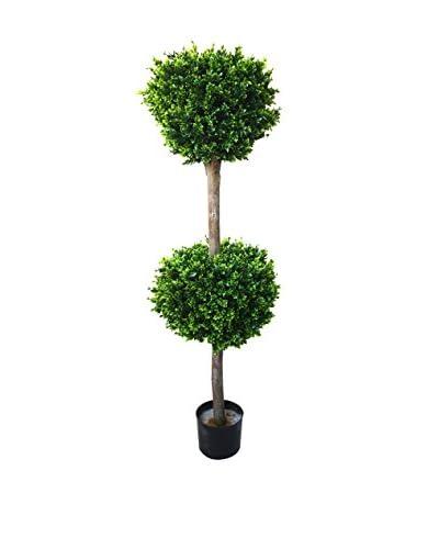 Pure Garden 56″ Hedyotis Double Ball Artificial Tree