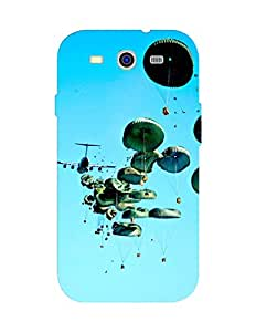 Bagsfull Designer Printed Matte Hard Back Cover Case For Samsung Galaxy S3 i9300 9300