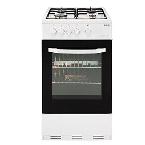 Beko BSG580W 50cm Single Oven Gas Cooker White