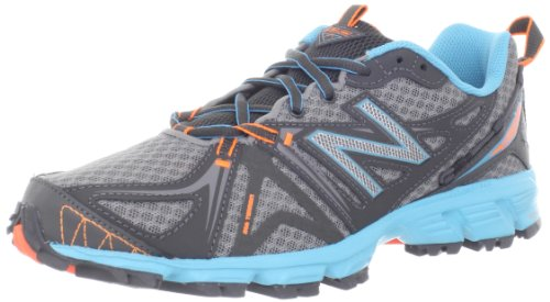 New Balance Women's WT610v2 Trail Running Shoe,Grey/Blue,8.5 B US