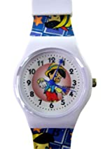 Disney Classic Story Pinocchio Watch - Jelly Band Casual Watch