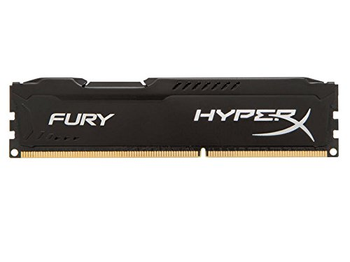 Kingston HyperX Fury Memorie DDR-III da 8 GB, PC 1866, Nero