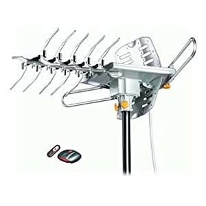 Lava HD-2605 UHF/VHF HDTV Antenna with Remote Control