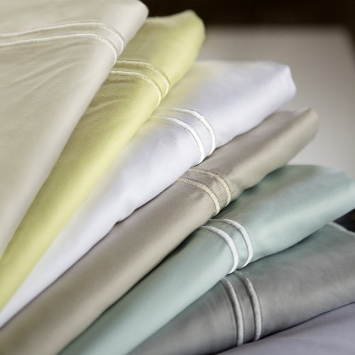 Malouf Fine Linens® Rayon from Bamboo Bed Sheet Set Twin XL white