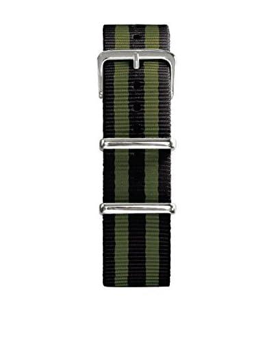 Oxygen Cinturino Nato 20 mm Nero/Kaki