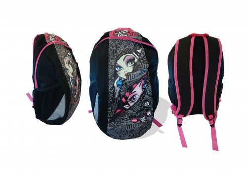 Character Monster High Large New Backpack