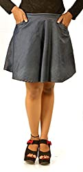 D-Nimes Women's Short Skirt - 34