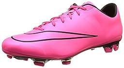 Nike Men\'s Mercurial Veloce II Fg Hyper Pink/Hyper Pink/Black/Black Soccer Cleat 10 Men US