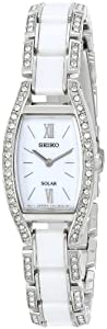 Seiko Women's SUP221 Stainless Steel Crystal-Accented Watch