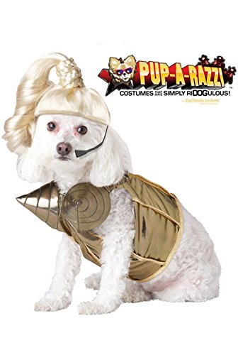 Mememall Fashion Pop Queen Madonna Dog Pet Costume (Jackie Moon Halloween Costume)