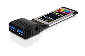 Transcend Interface Card / Adaptor Expresscard f?r Laptop (2 Ports) USB 3.0