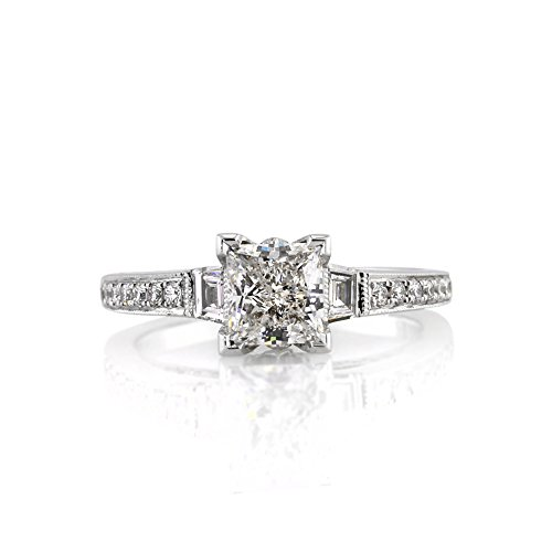 Mark Broumand 2.00Ct Princess Cut Diamond Engagement Ring