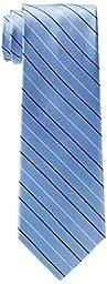 Tommy Hilfiger Men\'s Thin Stripe Tie, Blue, One Size