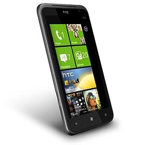 HTC X310E Titan Unlocked Smartphone with Windows Phone OS 7.5, 8 MP Camera, 16 GB Internal Storage, Touchscreen, Wi-Fi, GPS--No Warranty (Carbon Gray)