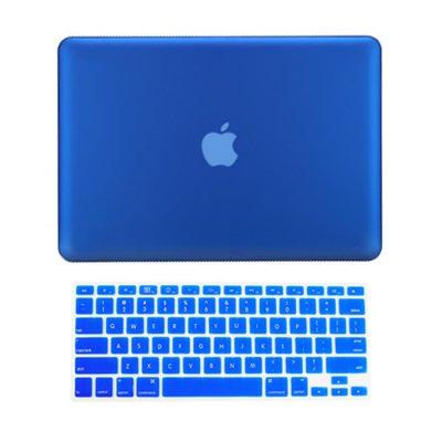 TopCase® 2 in 1 Rubberized ROYAL BLUE Hard Case