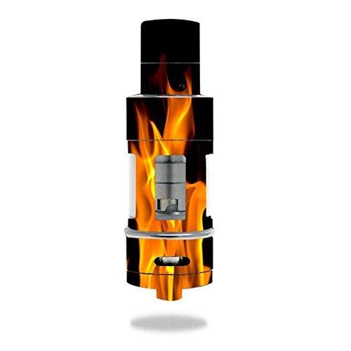 Aspire Atlantis 2.0 Vape E-Cig Mod Box Vinyl DECAL STICKER Skin Wrap / On Fire Hot Burn Burning Flame (Atlantis Vaporizer compare prices)
