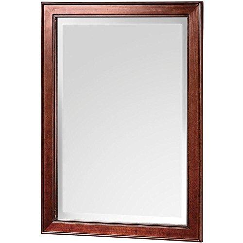 Foremost HFNM2129 Hartford 28-1/2†x 21†Poplar Framed Mirror, Walnut