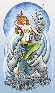 C&D Visionary Sublime Mermaid Sticker - 1