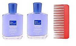 Combo of 2pc Blue Heaven Nail Polish Remover 60ml & Shampoo Comb